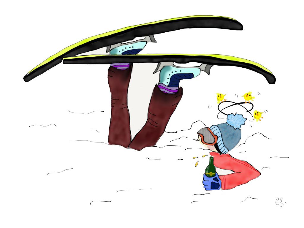 Caoilainn Scouler - Skiing