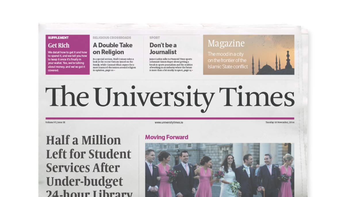 The University Times Wins International Newspaper Design Competition