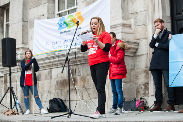 Students March For Greater Investment